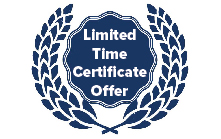 Limited Time Certificate Offer