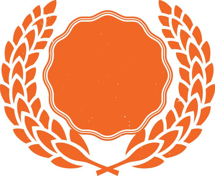 Orange Crest