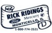 Rick Ridings Monticello