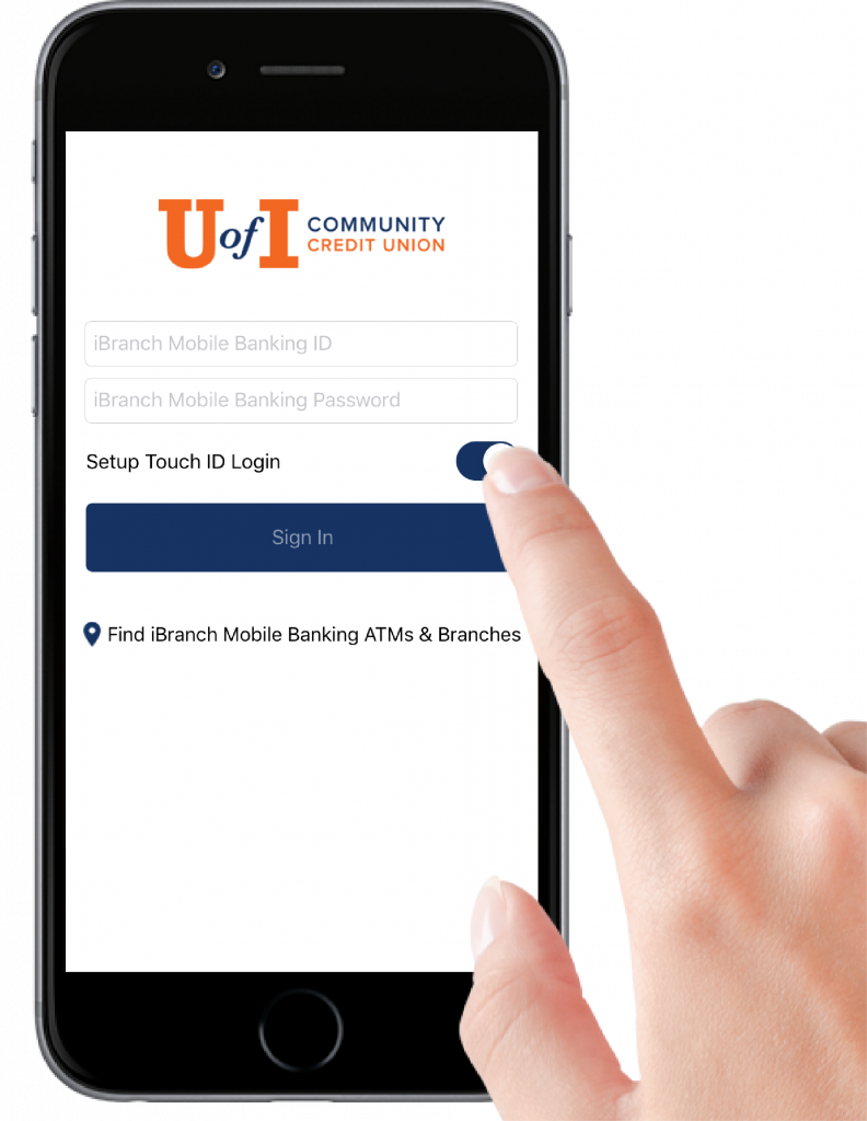 How to Set Up Touch ID for Mobile Banking App on iPhone - U of I ...