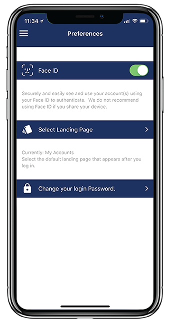 How to Set Up Touch ID and Face ID for Mobile Banking App on