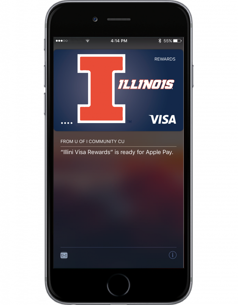 visa ready for apple pay