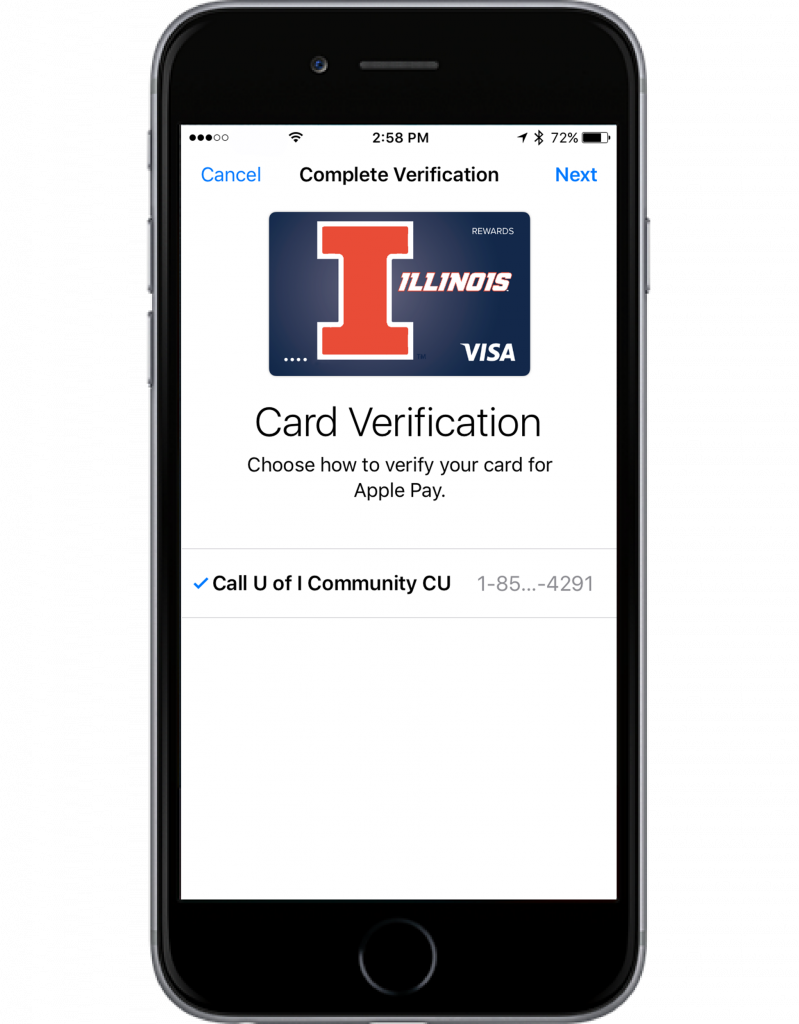 card verification