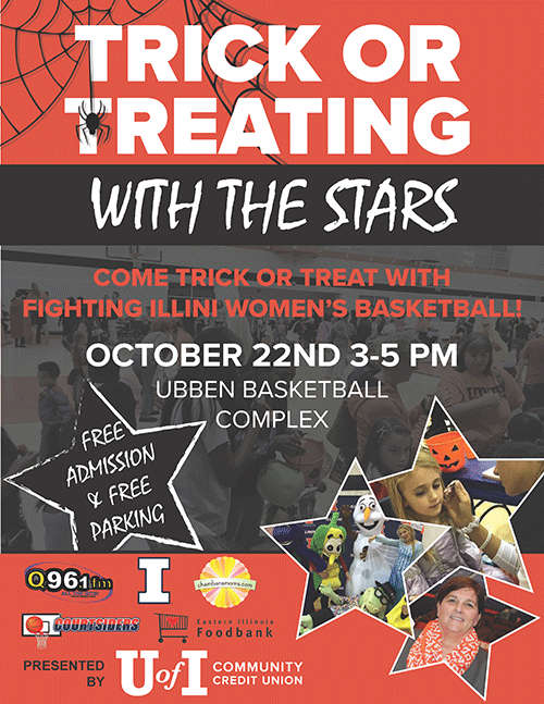 Trick or Treating with the Stars Poster