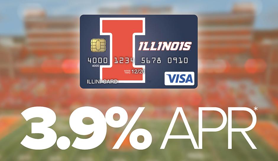 Illini Card Intro Offer - 3.9% APR