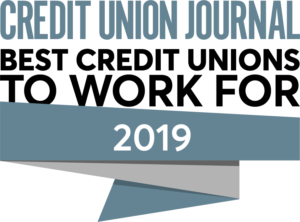 Credit Union Journal - Best Credit Unions to Work for - 2019 Winner