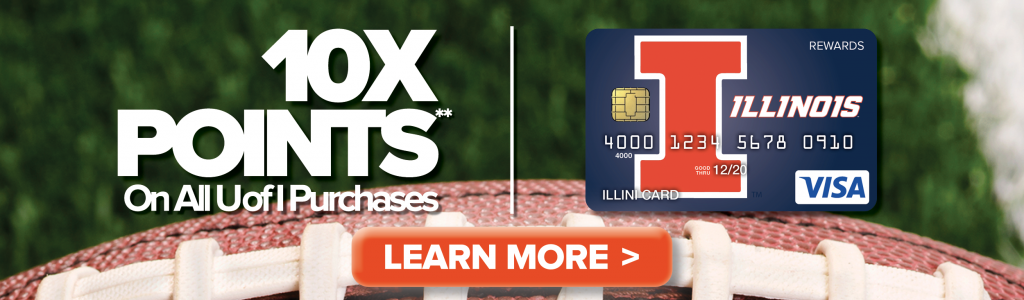 Bowl Game Promo - 10x Points on all U of I Purchases**