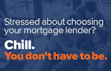 Stressed about choosing your mortgage lender? Chill. You don't have to be.
