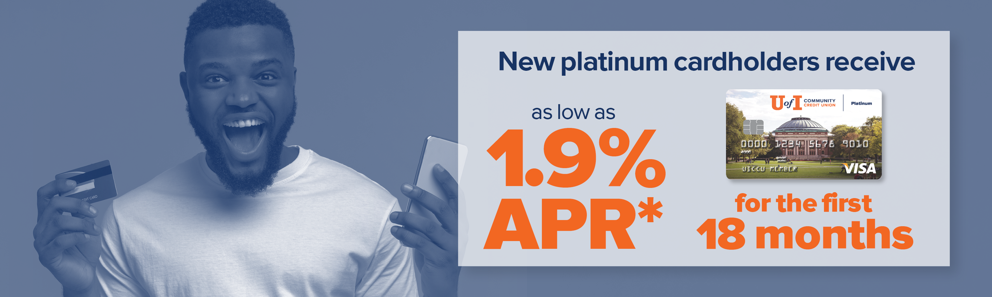 1.9% APR* on Purchases and Balance Transfers